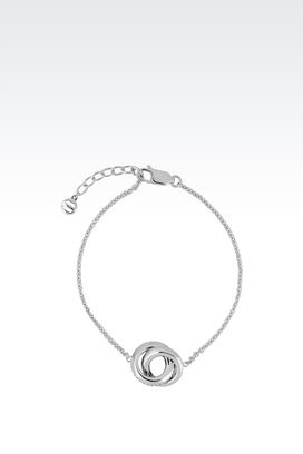 Armani Bracelet Women necklace in sterling silver
