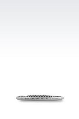 Armani Bracelet Women bracelet in sterling silver