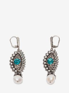 Jeweled Eye Earrings