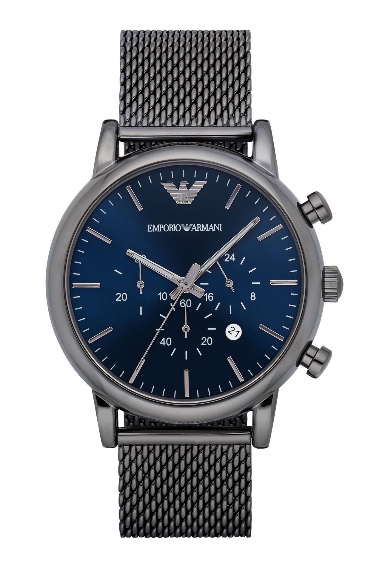 QUARTZ CRONOGRAPH WATCH: Watches Men by Armani - 0