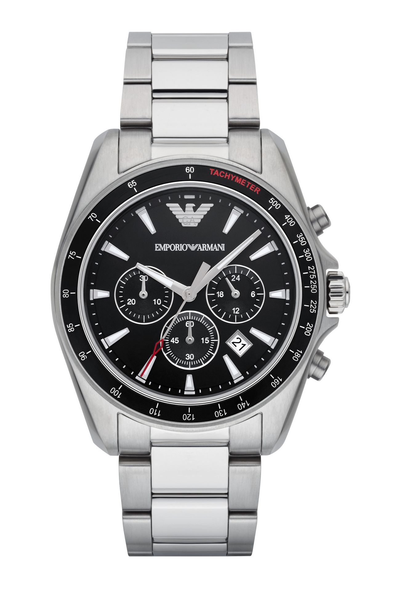 QUARTZ CRONOGRAPH WATCH: Watches Men by Armani - 0