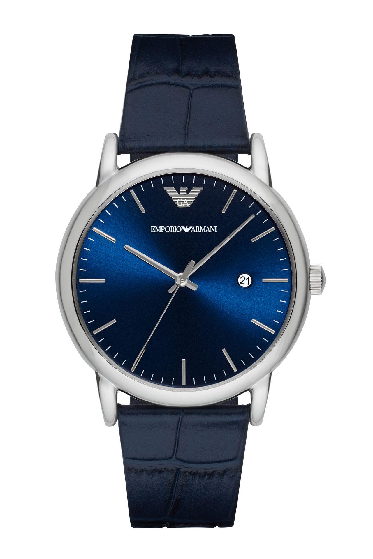 QUARTZ 3 HAND WATCH: Watches Men by Armani - 0