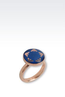 Armani Rings Women steel ring