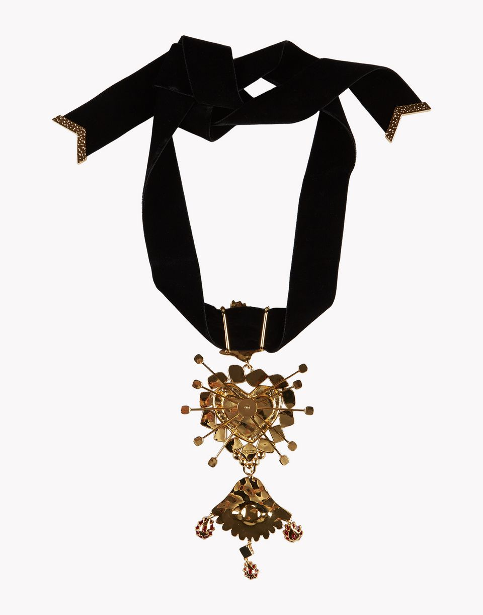 embellished velvet choker jewels Woman Dsquared2