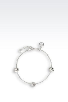 Armani Bracelet Women sterling silver bracelet with zirconia