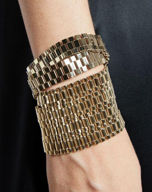 """lanvin """"chaîne"""" cuff bracelet women"""