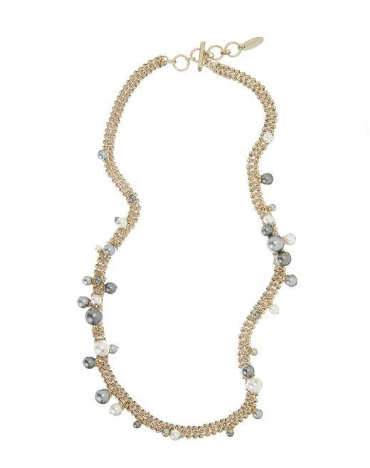 """lanvin """"perles"""" long necklace women"""