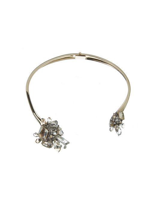 """lanvin """"cristal de roche"""" necklace women"""