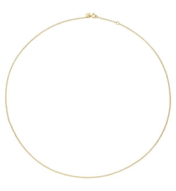 DODO Onesize necklace E YELLOW GOLD CHAIN  f