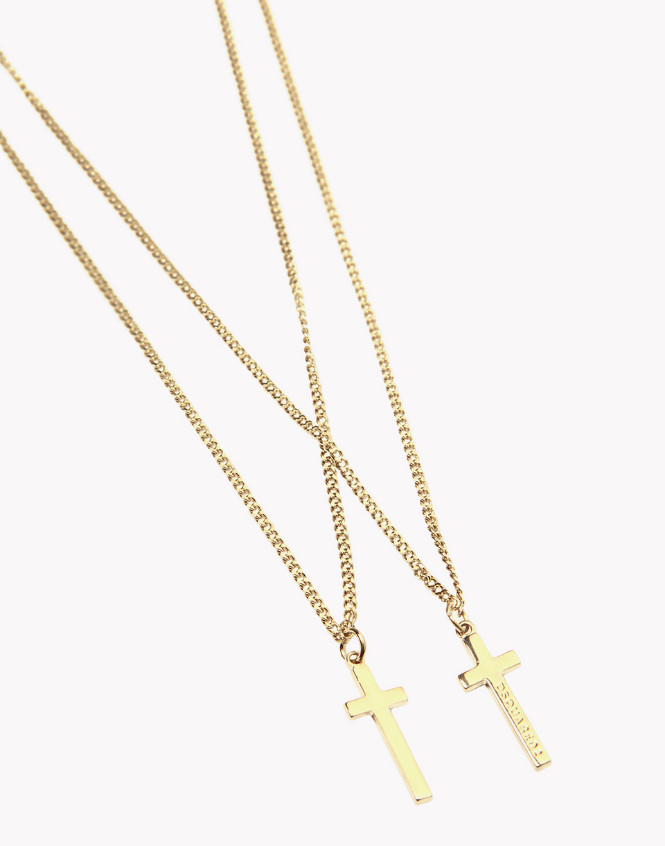 double cross necklace jewels Man Dsquared2