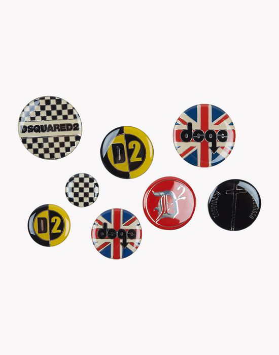 d2 mixed pins jewels Man Dsquared2