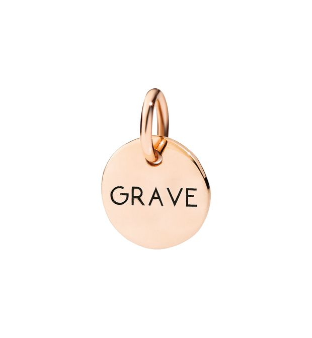 GRAVE - 9 Kt Rose Gold - DoDo | Official Online Store