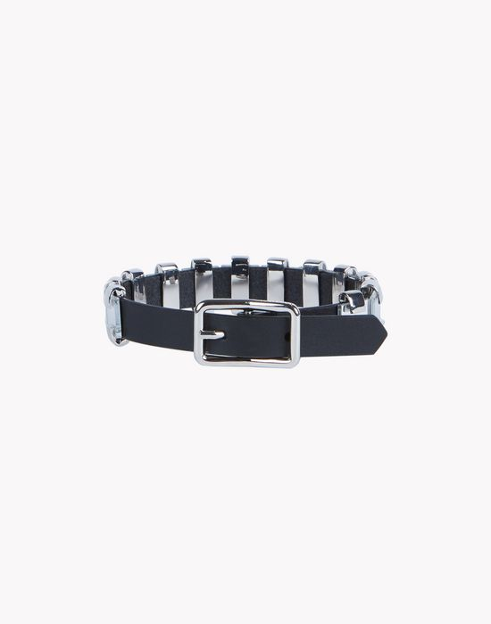leather chain armlet jewels Man Dsquared2