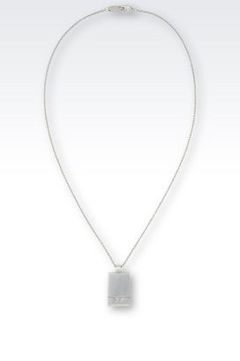 Armani Necklace Men jewelry