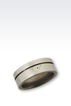 Armani Rings Men jewelry
