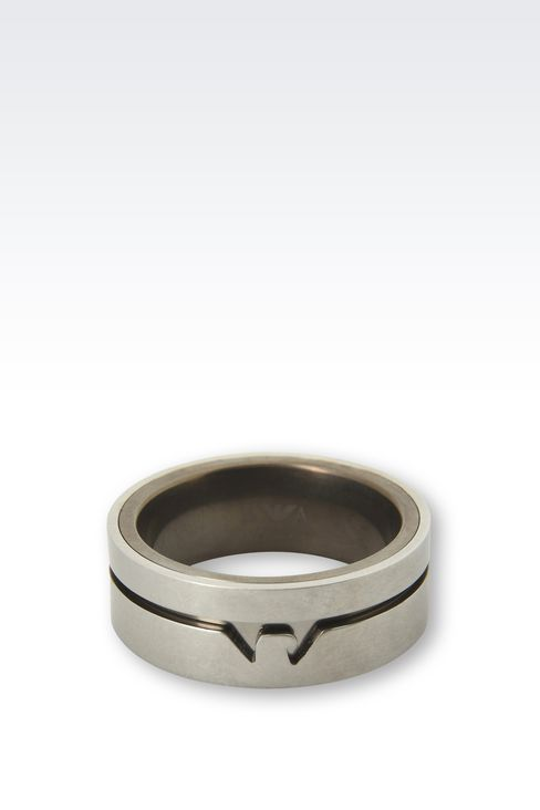 Jewellery: Rings Men by Armani - 2