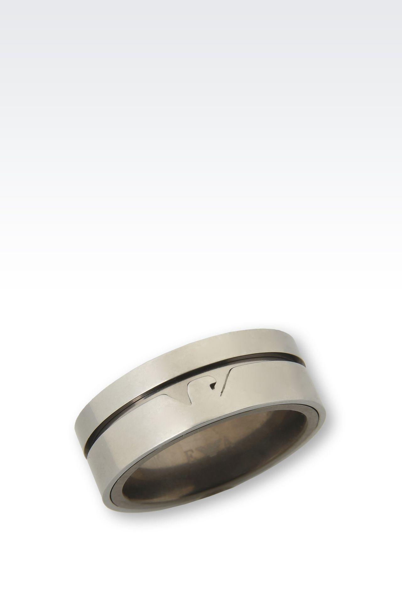Jewellery: Rings Men by Armani - 0