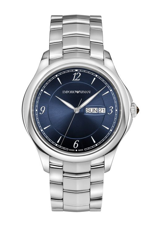 SWISS MADE STAINLESS STEEL WATCH: SWISS MADE WATCHES Men by Armani - 1