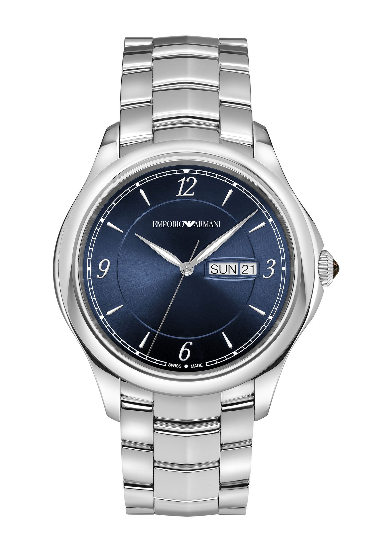 SWISS MADE STAINLESS STEEL WATCH: SWISS MADE WATCHES Men by Armani - 0