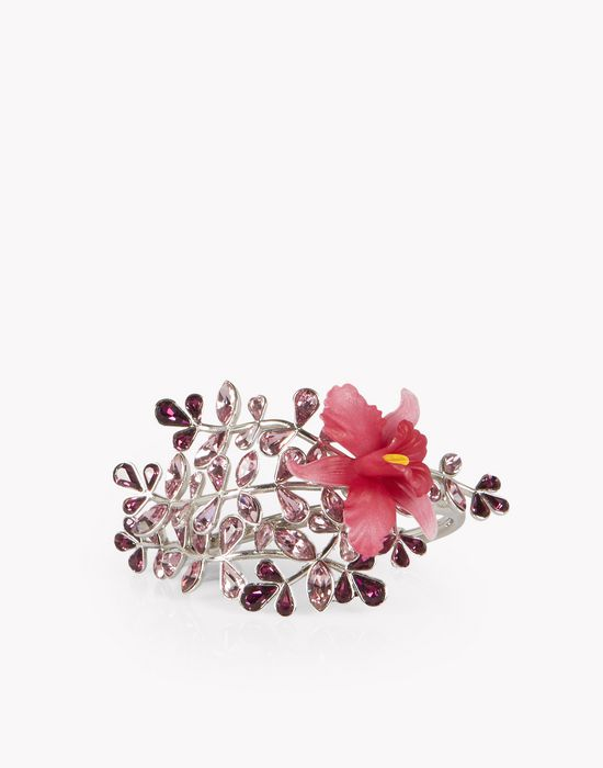 flower crystal embellished cuff gioielli  Donna Dsquared2