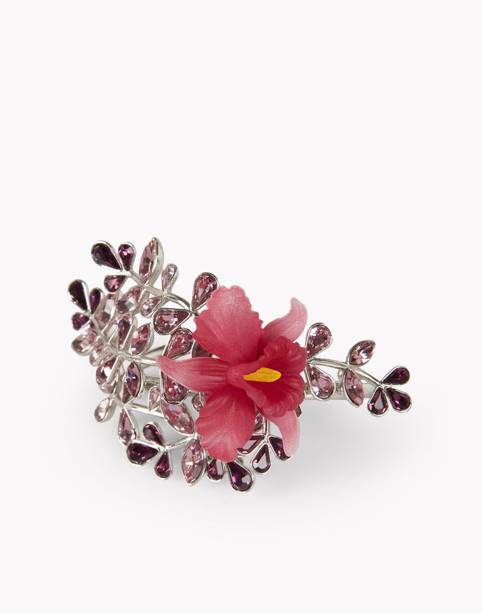 flower crystal embellished cuff jewels Woman Dsquared2