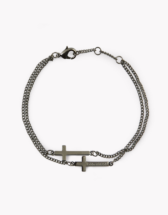 cross bracelet schmuck Herren Dsquared2