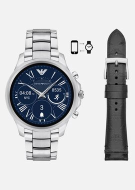 Armani Connected Men gift set touchscreen smartwatch art9002+strap