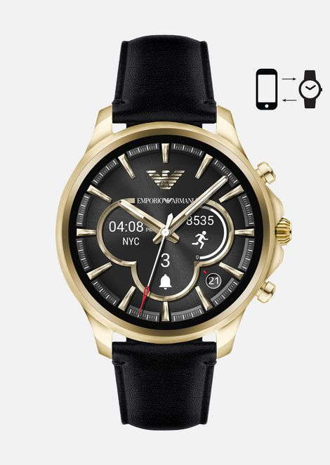 TOUCHSCREEN SMARTWATCH ART5004: Connected Men by Armani - 1