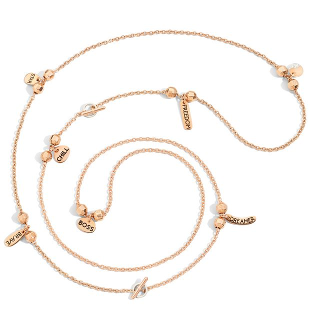 DODO Chain E Rose gold chain f