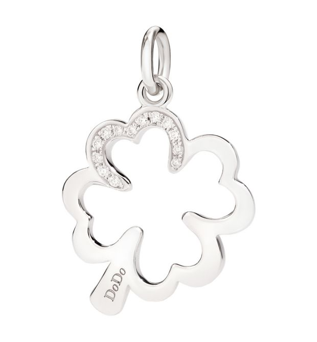 DODO Charms E four leaf clover f