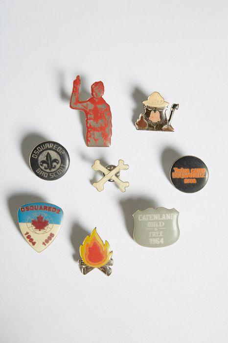 bad scout glamping pins schmuck Herren Dsquared2
