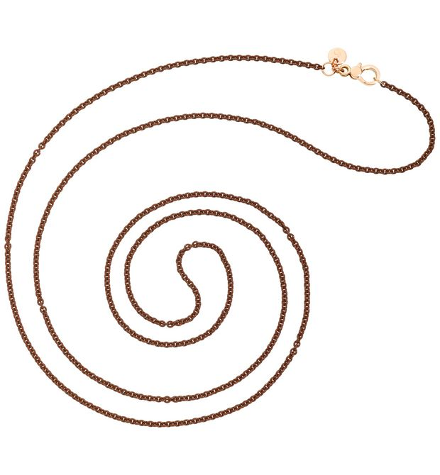 DODO Onesize necklace E Bracelet chaînette en or rose.   f