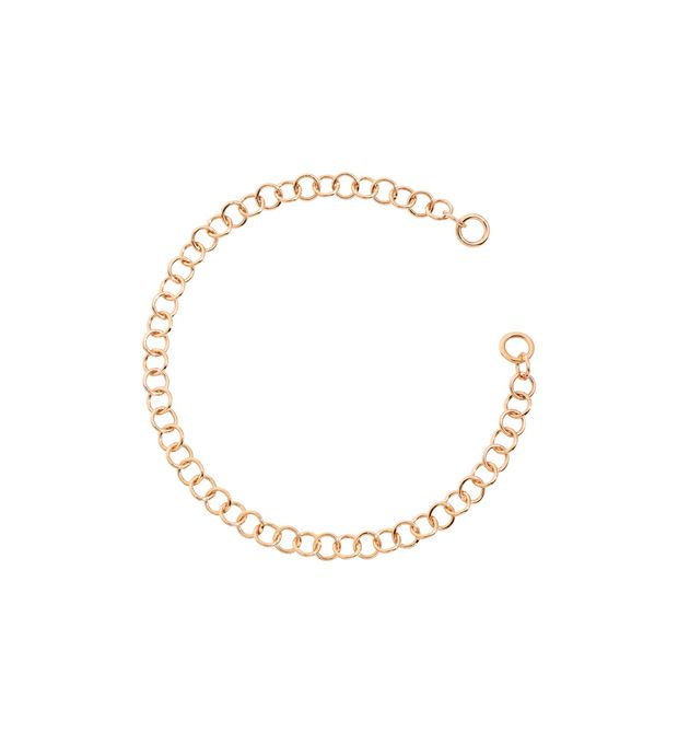 Lightweight Rose Gold Chain Bracelet