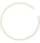 DODO Onesize necklace E Light Rose Gold Chain  f