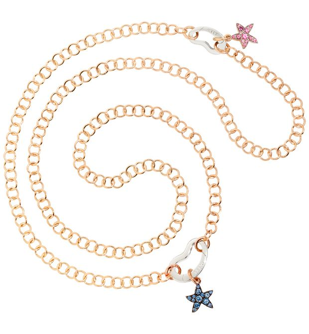 DODO Onesize necklace E Catenina in oro rosa a