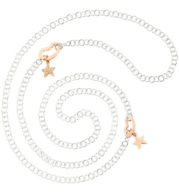 DODO Onesize necklace E Lightweight Rose Gold Chain Bracelet  a