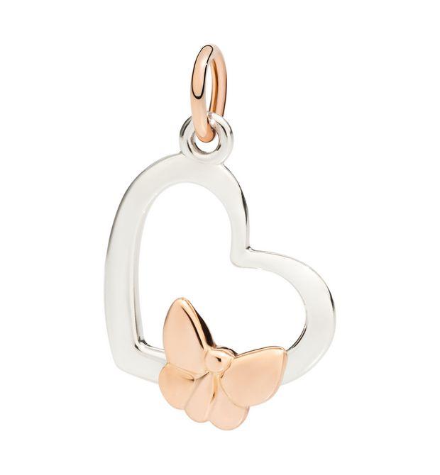Heart Silhouette - 9 Kt White Gold - DoDo   Official Online Store 070f95cbc3