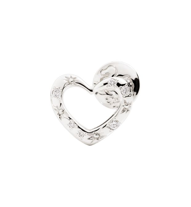 DODO Ring E Brisé ring with hole for charm  f