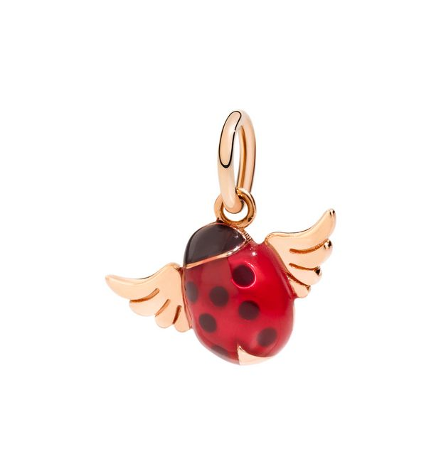 DODO Charms E Ladybug with wings f
