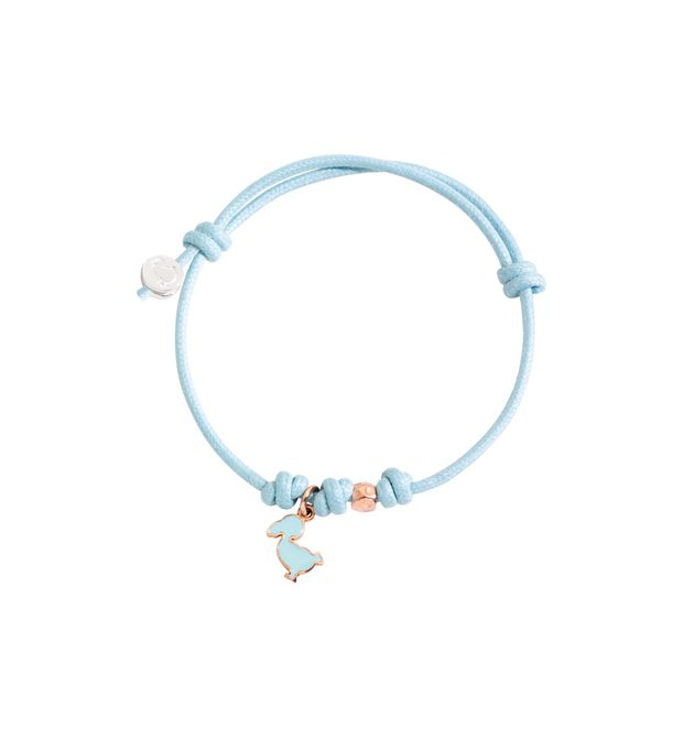 DODO Bracelet E Cord bracelet with MUM tag and ringlets f