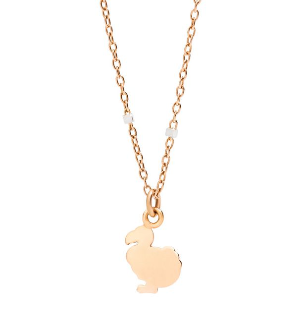Necklace with dodo charm