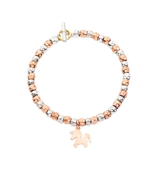 DODO Bracelet E Bead bracelet with snowflake, star and moon f