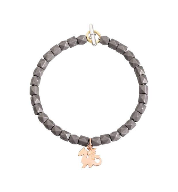 DODO Bracelet E Bead bracelet with three Dodos f