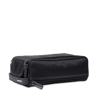ERMENEGILDO ZEGNA: Beauty case Black - Blue - 51117423VN