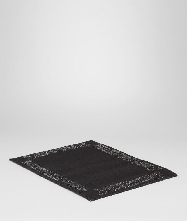 BOTTEGA VENETA Intrecciato Linen Placemat Desk accessory E fp