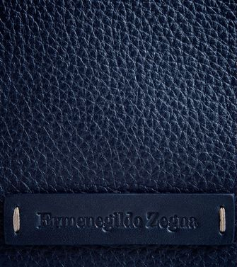 ERMENEGILDO ZEGNA: Digital case Blue - Grey - 51118173JL