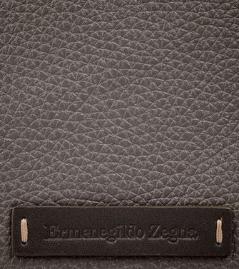 ERMENEGILDO ZEGNA: Digital case Black - Blue - 51118173XT