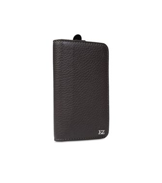 ERMENEGILDO ZEGNA: Digital case Black - 51118174FI