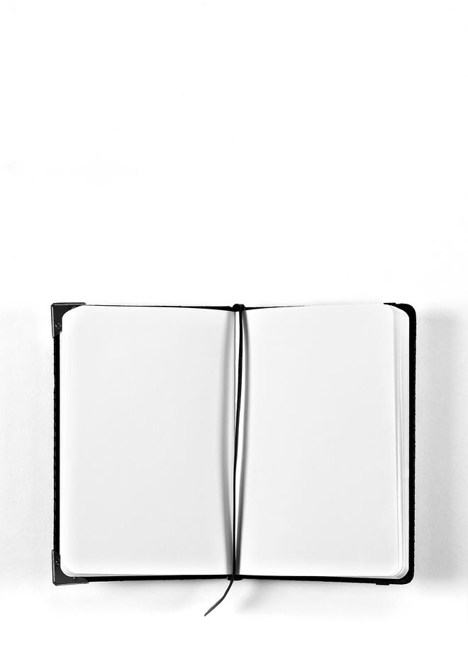 ALEXANDER WANG NOTEBOOK WITH RHODIUM HARDWARE NOTEBOOK Adult 12_n_r