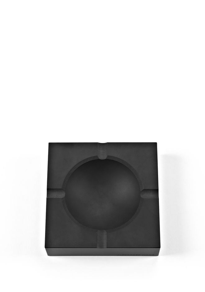 ALEXANDER WANG MATTE BLACK ASHTRAY ASHTRAY Adult 12_n_e